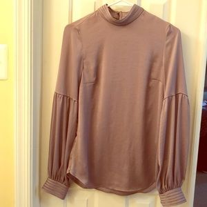 Taupe Blouse size 4